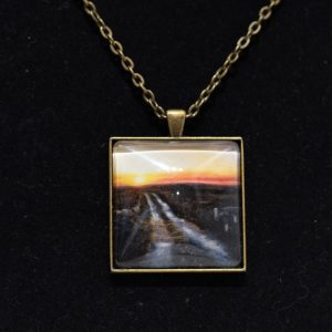 Bog-road necklace