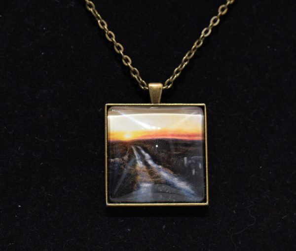 Bog-road necklace